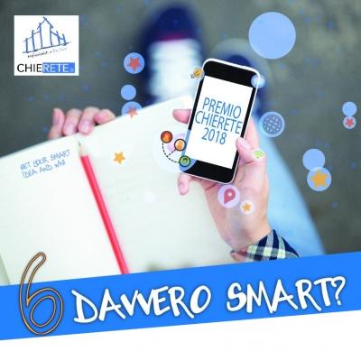 """CONCORSO 2018 """"6 DAVVERO SMART?"""""""