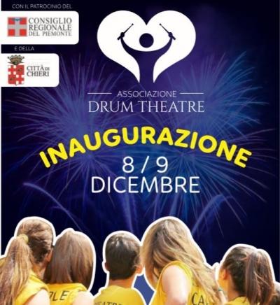 Chierete sostiene Drum Theatre: domani inaugurazione con spettacolo a Chieri
