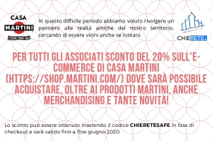 Scopri lo shop online di Casa Martini!