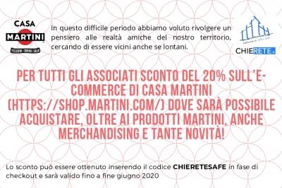 Scopri lo shop online di Casa Martini!