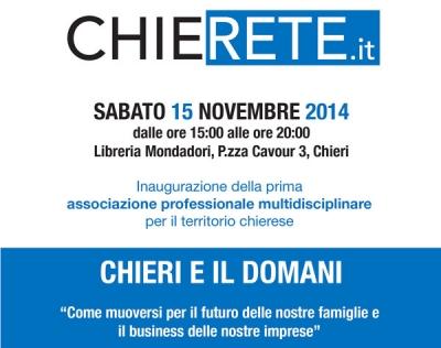 """""""Chieri e il domani!"""" - 15/11/2014"""